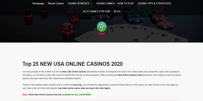 usa casinos